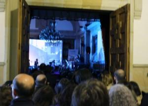 El Paraninfo de LAUDEO se quedó pequeño para este concierto realmente grande.