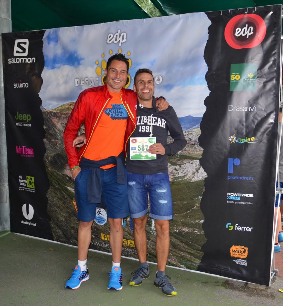 Los asturianos Guillermo Vega y Miguel Ángel Pando, enamorados de la montaña.